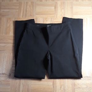 Talbots High-waisted Black Cropped Pants